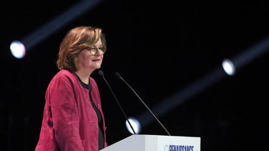 Nathalie loiseau tete de liste du parti presidentiel francais lrem